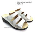 Slipper Solidus Zilver 21154 H