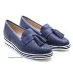 Mocassin Blauw 7.63.15 Softwaves